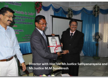 Director with Hon'ble Mr.Justice Sathyanarayana and Mr.Justice M.M.Sundaresh