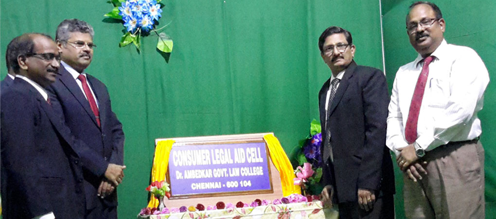 Mr.Justice T.S.Sivagnanam formally inaugurate the Consumer Legal Aid Cell.