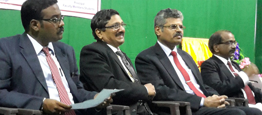 Mr.Justice T.S.Sivagnanam with the Director on the inauguration of Consumer Legal Aid Cell.