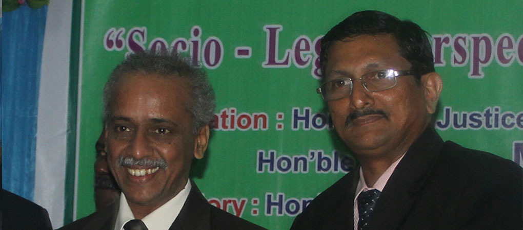 Director with Hon'ble Mr.Justice V.Ramasubramaniam