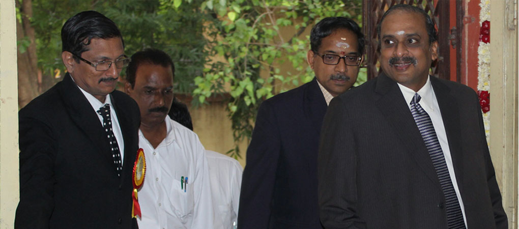 Director with Hon'ble Mr.Justice B.Rajendran.
